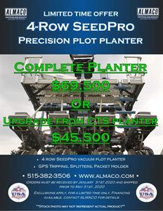 SEEDPRO PRECISION PLOT PLANTER PROMO!!!!