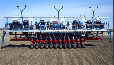 Flexible Row Spacing Planters Almaco Innovating Seed Research