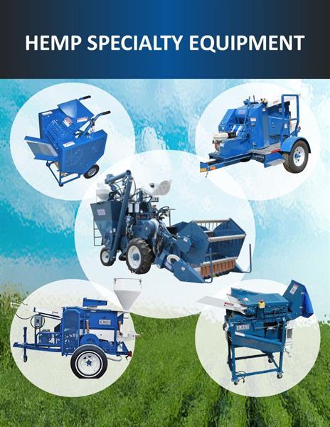 hemp research, hemp harvest, hemp seed, CBD machinery, hemp