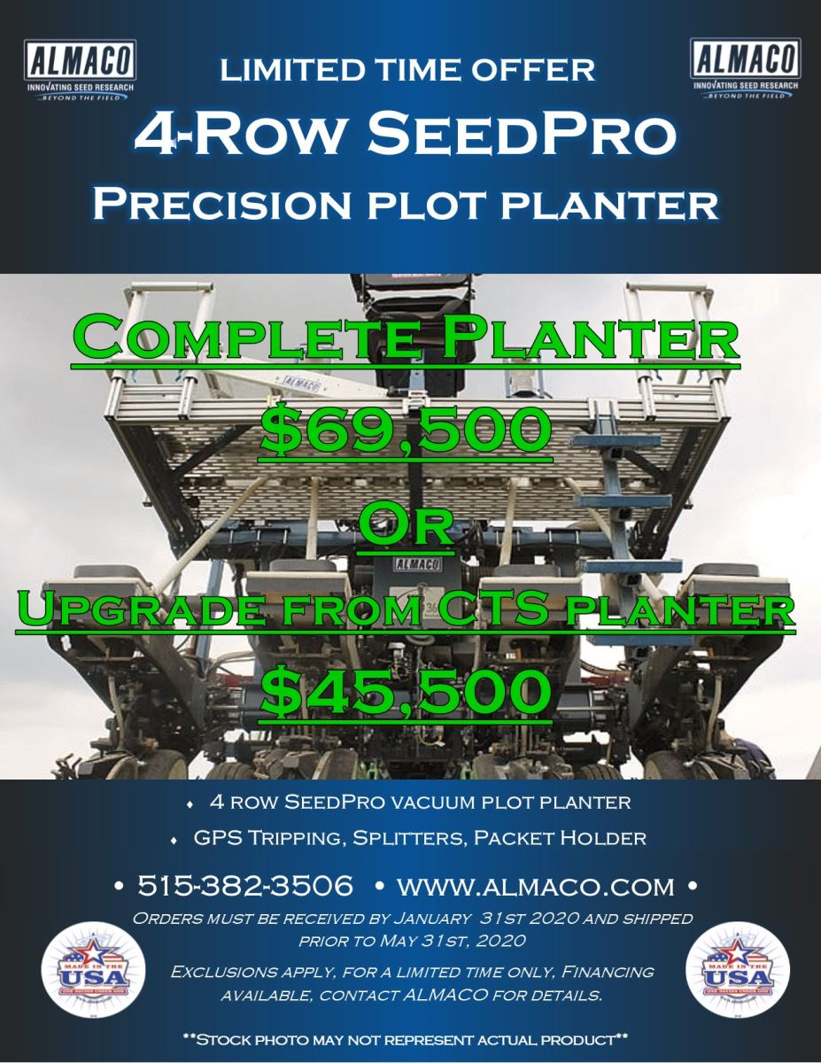 SEEDPRO PRECISION PLANTER PROMO!!