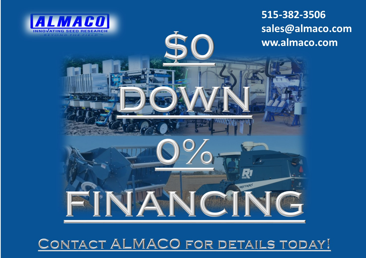 $0 DOWN AND 0% APR FINANCING